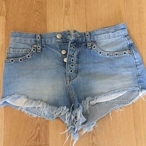 Jean shorts by Free People